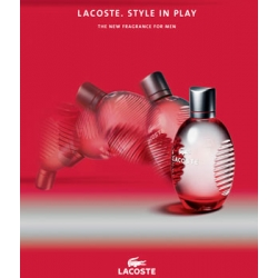 LACOSTE STYLE IN PLAY (RED) 125ml woda toaletowa